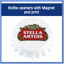 Bottle openers with Magnetandprint